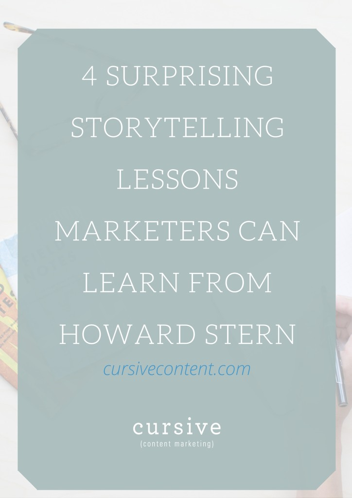 4 Surprising Storytelling Lessons Marketers Can Learn from Howard Stern