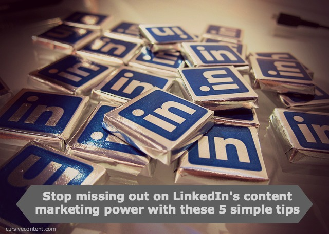 linkedin content marketing tips