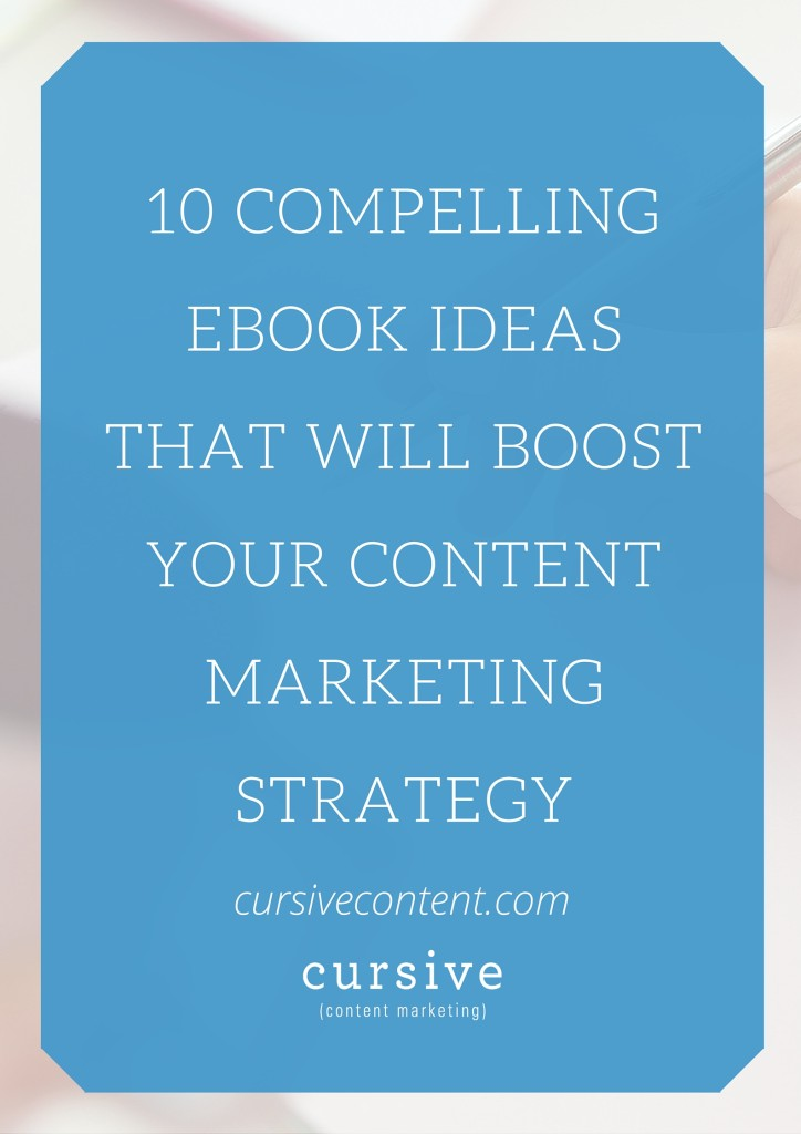 Writing an ebook can be a seriously strategic content marketing step. But it's also a big commitment. And if you're not sure when to begin, it can seem like an impossible endeavor. So we're here to help get you in the mindset of writing that ebook we know is in you. Here are 10 ebook idea starters that will hopefully add fuel to your writing fire.