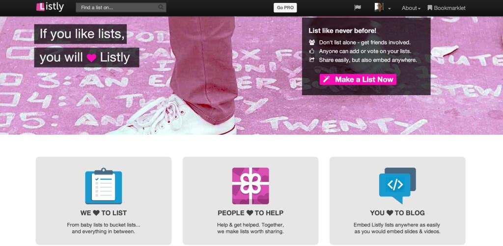 listly content curation emily cretella cursive content marketing