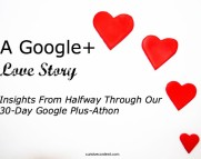 a google plus love story content marketing