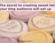 create sweet lists your blog audience will eat up
