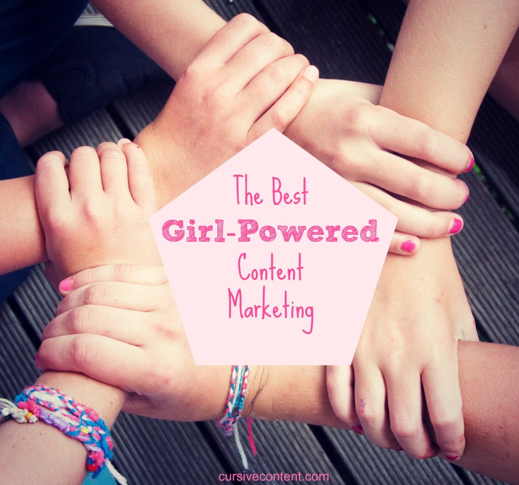 best girl powered content marketing cursive content