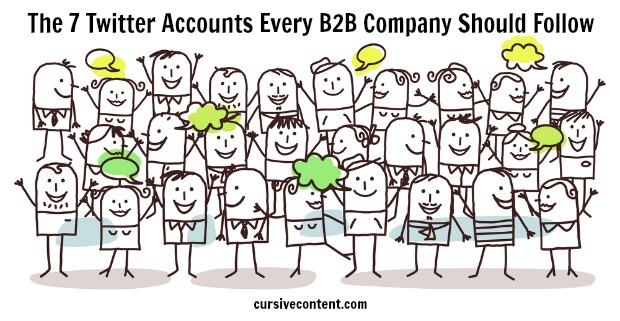 The 7 Twitter accounts every B2B company should follow