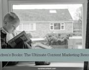 childrens books content marketing cursive content