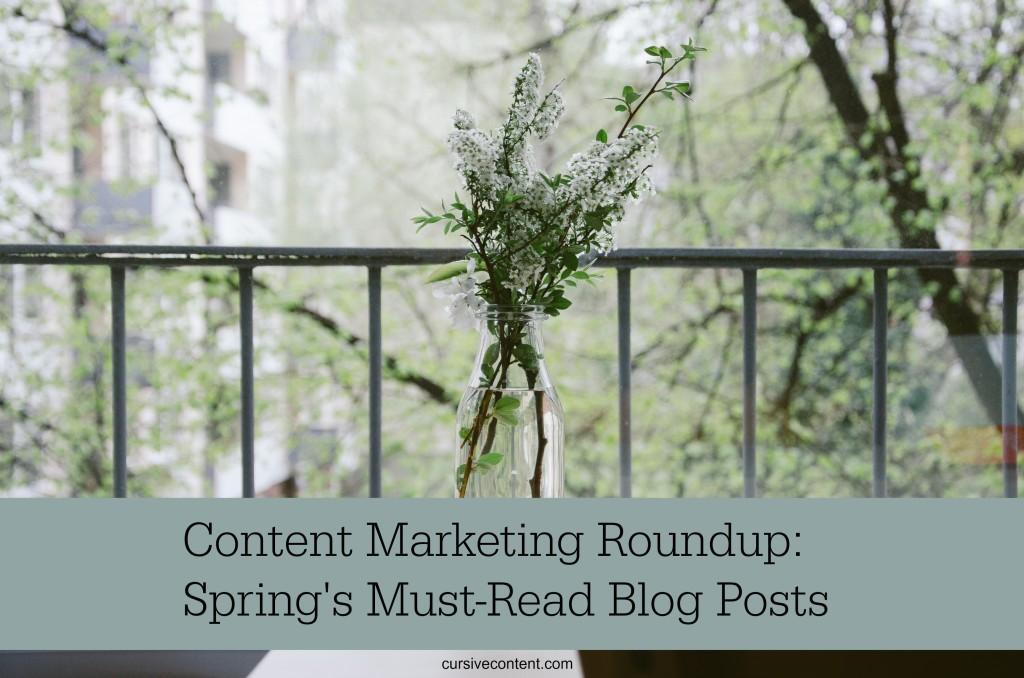 best content marketing articles, best content marketing blogs, cursive content marketing