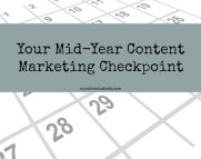 Mid year content marketing checkpoint