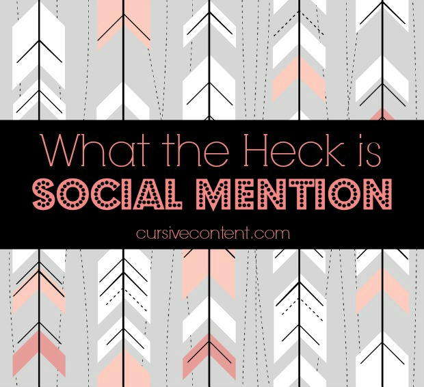What the heck is Social Mention