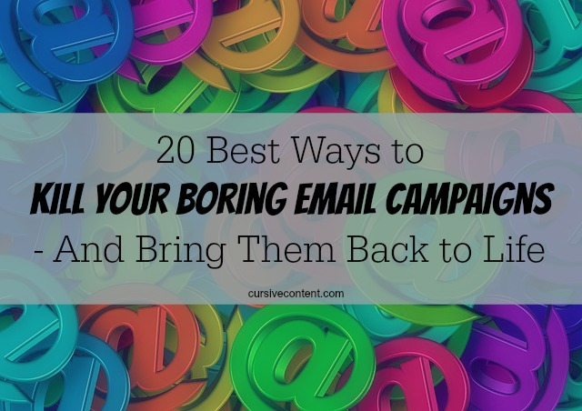 20 best tips and tricks to kill your boring email campaigns and create effective emails