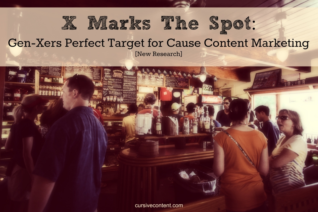 New research: Generation X perfect target for cause content marketing