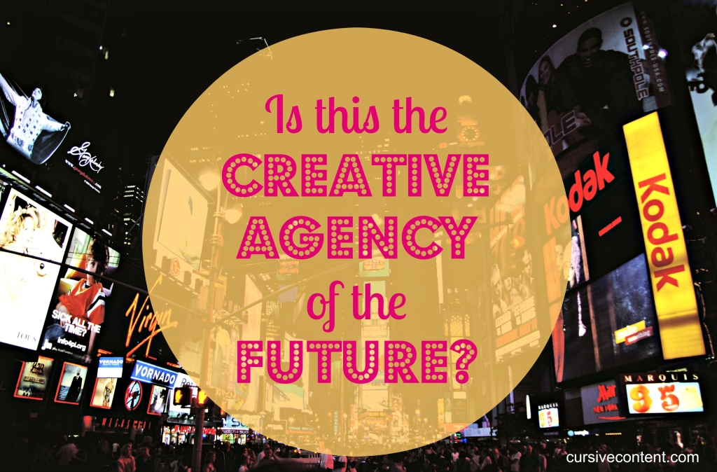 the creative agency of the future content marketing
