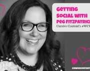 Getting Social with Peg Fitzpatrick-Cursive Content Marketing's #WCW