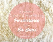 A Lesson in Content Marketing Perseverance
