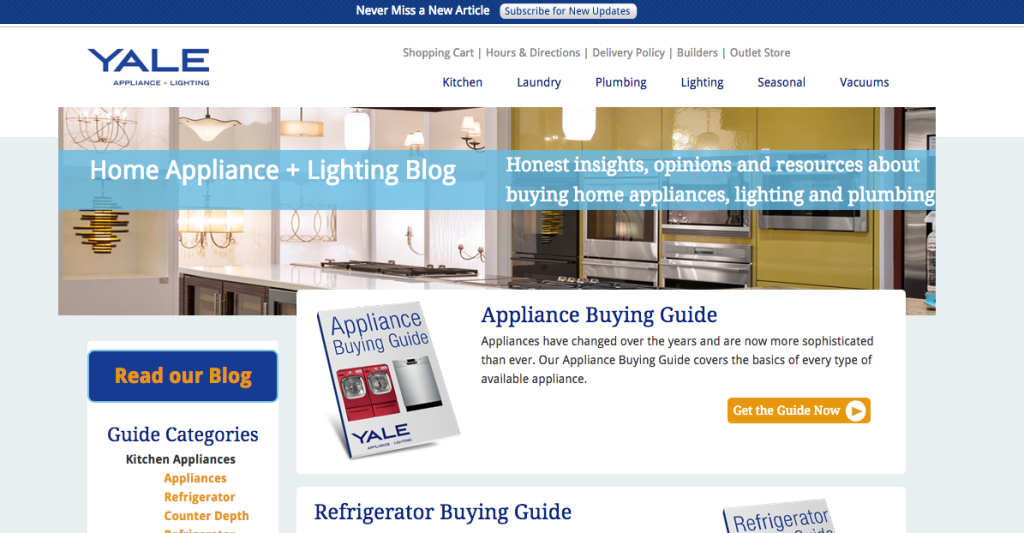 Yale Appliance Content Marketing Case Study
