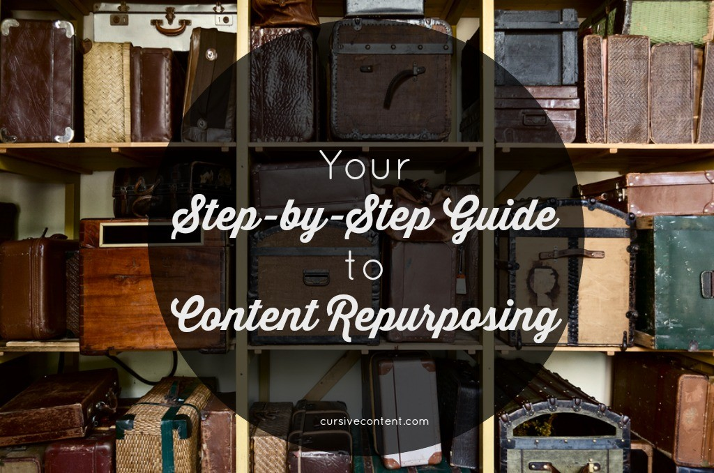 Your Step by Step Guide to Content Repurposing - Cursive Content Marketing