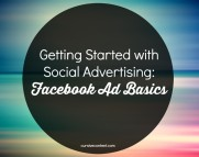 Getting Started with Social Advertising- Facebook Ad Basics