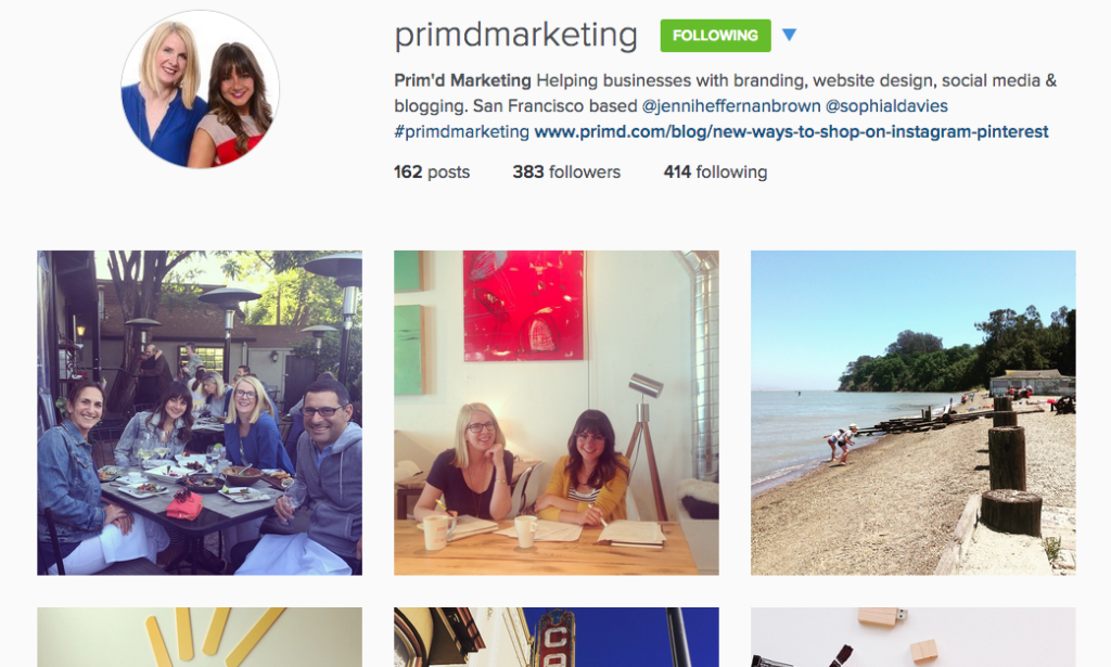 Primd Marketing Screen Shot
