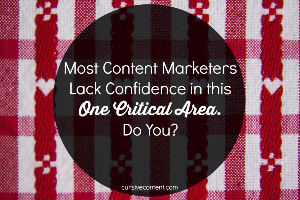 Content Marketers Lack Confidence in the One Area They Agree is Most Important