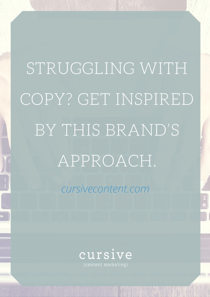 Struggling with Copy Development? Get Inspired by This Fashion Brand's Approach.