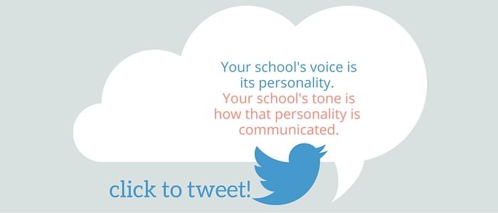 School Voice & Tone