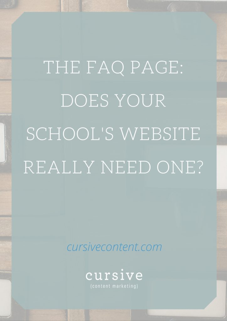 what does your school need That means that you need to make sure that your school's website has interesting and reputable content that can be shown in search results you're writing great content that uses keywords and long tail keywords (phrases, really) that people are searching for online.