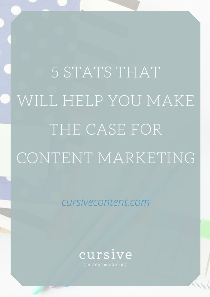 5 Stats That Will Help School Marketers Make the Case for Content Marketing