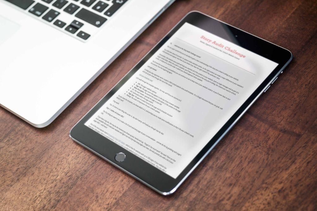 Cursive Content Marketing's Story Audit Challenge