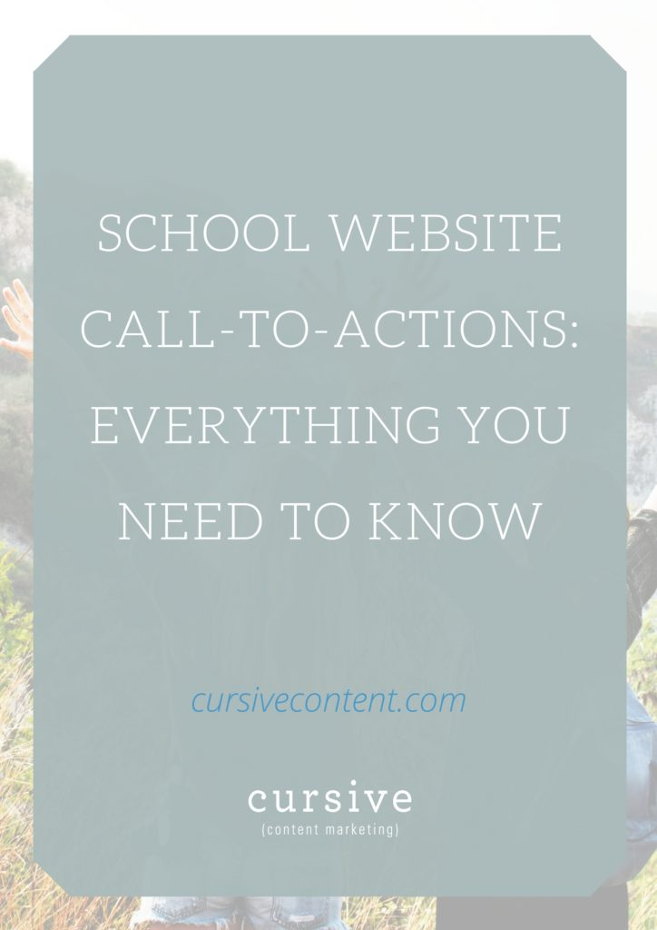School Website Call-to-Actions: Everything You Need To Know
