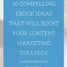 10 Compelling eBook Ideas That Will Boost Your Content Marketing Strategy